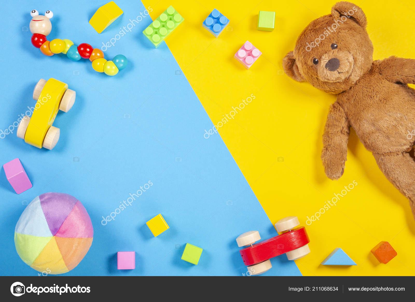 Enfants Bébé Cadre Jouet Jouets En Ours PelucheVoiture Avec lFc3KT1J