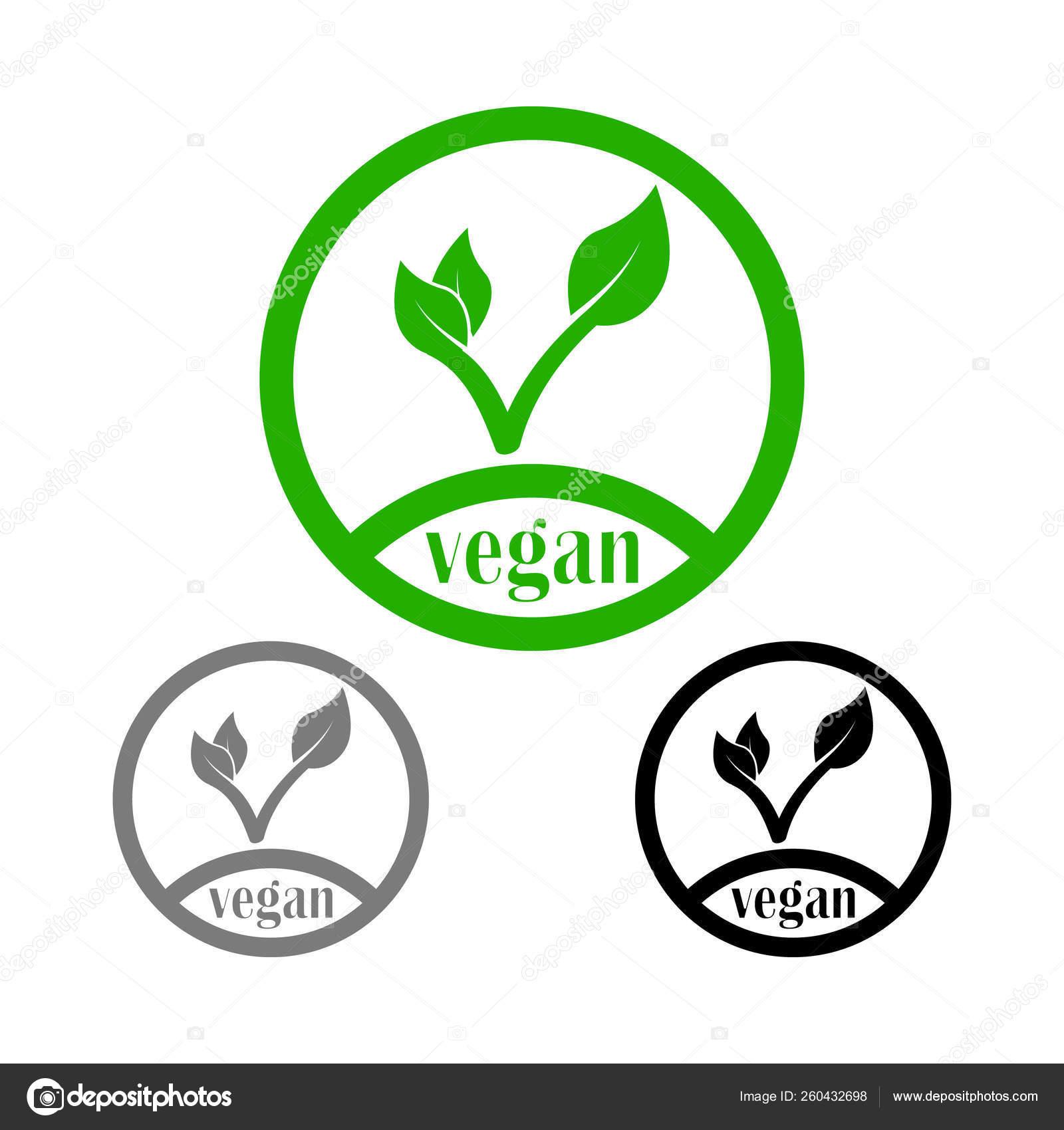 Green Line Icon Vegan Tick Leaf — Stock Vector © irysha279 gmail com