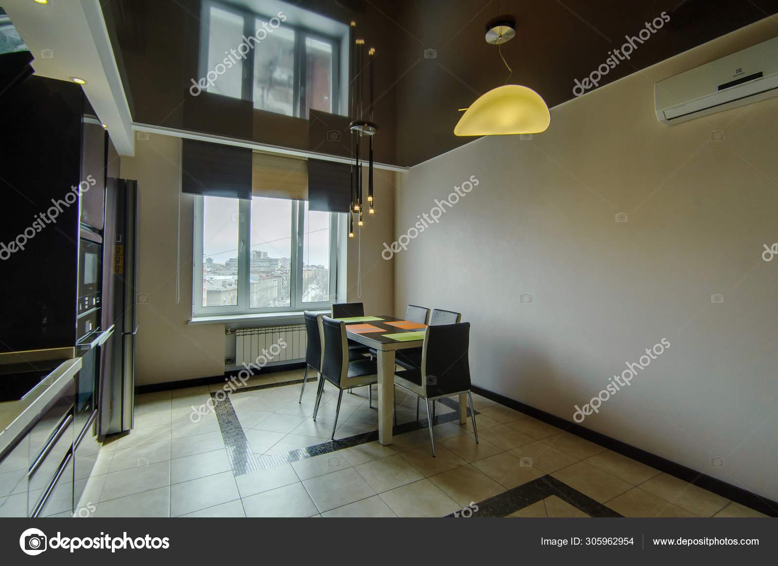 Russland Moskau Juni 2018 Innenzimmer Wohnung Standard