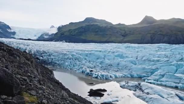 ledovce na Islandu