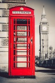 Londons iconic telephone booth