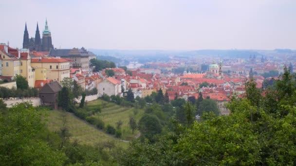 Krásný výhled na město Praha