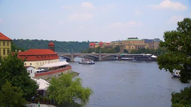 Prague Charles Bridge beautiful view