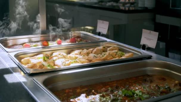 stravování podnikatelé se buffet potravin během firemní akce