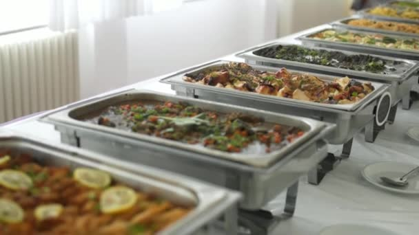 buffet food catering food party at restaurant