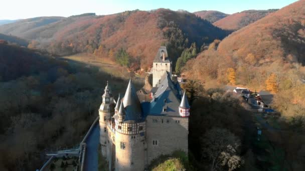 Německo starý hrad ze vzduchu.