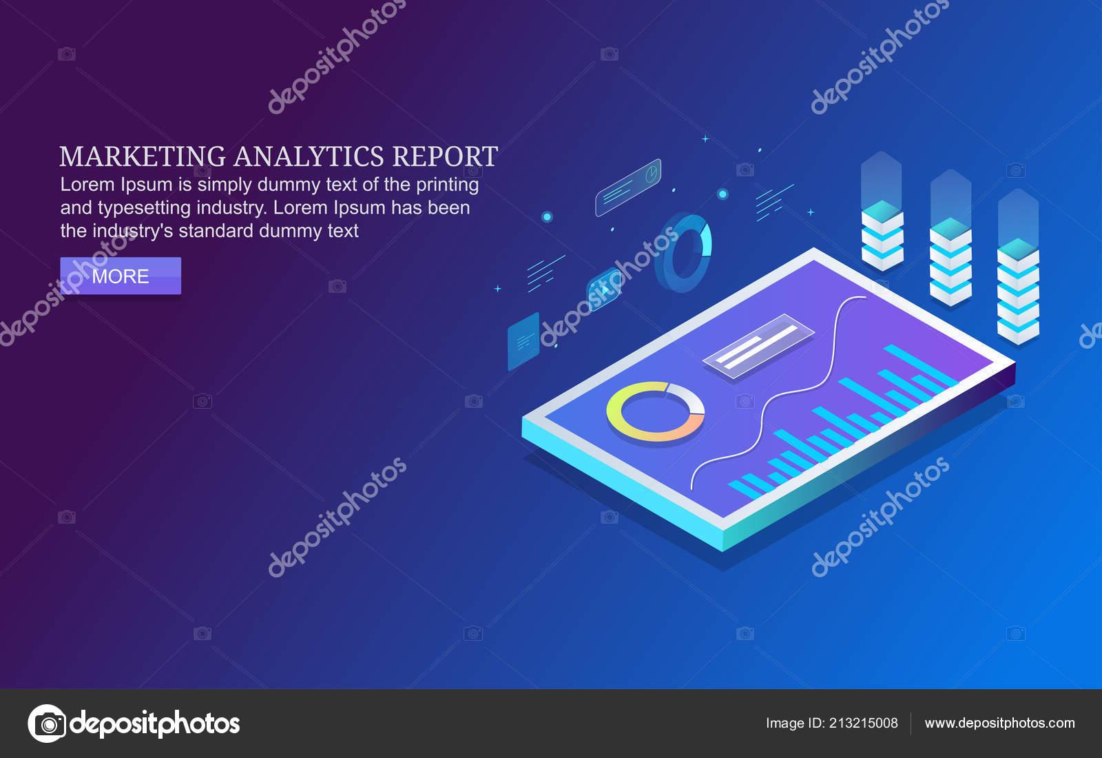 Marketing Analytics Report Mobile Analytics App Mobile