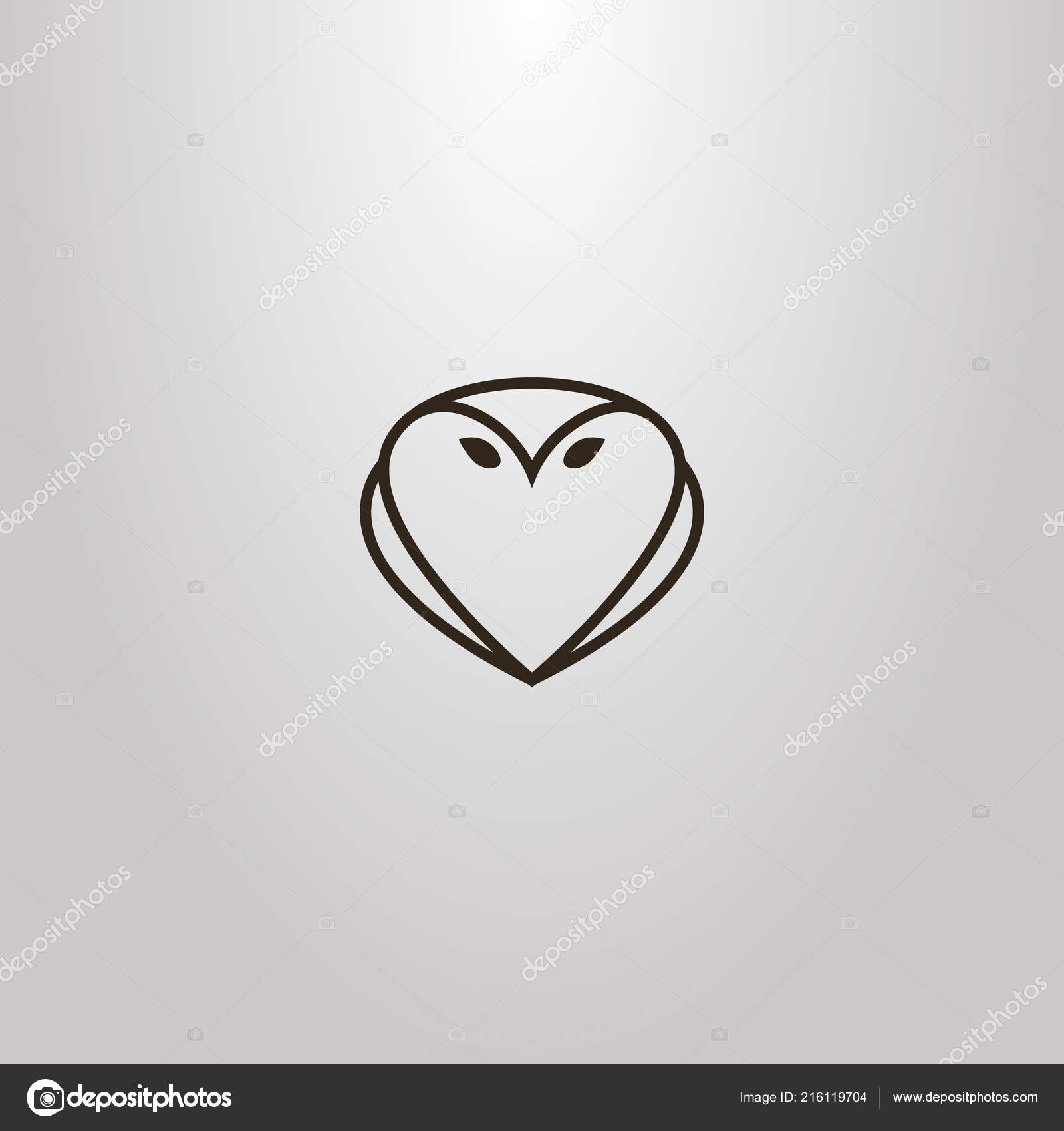 Simple Hearts Owl Outlines Wiring Diagrams Hqewnet Circuitdiagram Simulatethetrafficlightcircuit10820html Black White Vector Line Art Outline Sign Shape Stock Rh Depositphotos Com