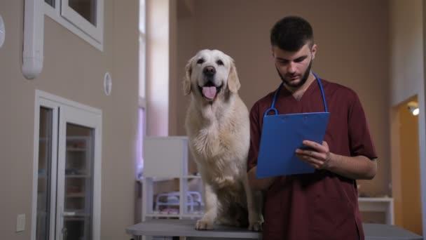 Pozitivní vet, pořizováním poznámek na psy diognosis