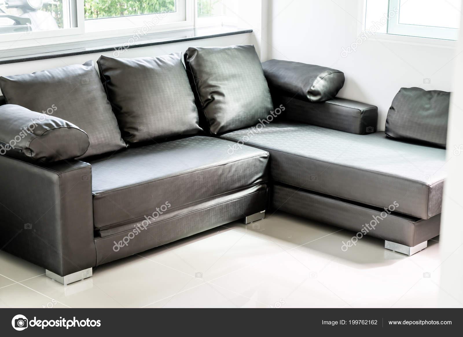 Sofa Moderno Decoracao Interiores Sala Estar Stock Photo C Topntp