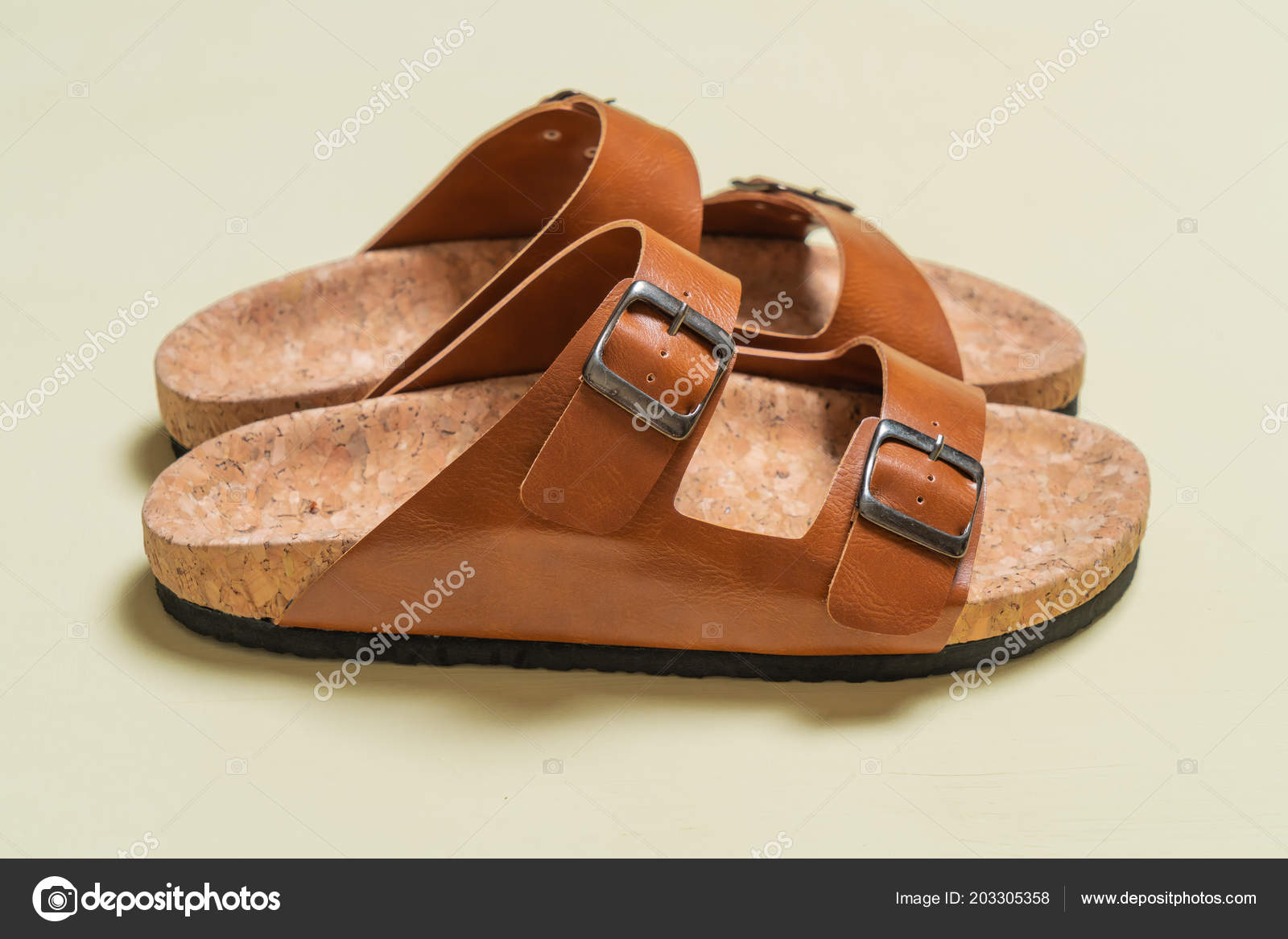 Mode Cuir Sandales Féminine Masculine Unisexe EIe9YWDH2