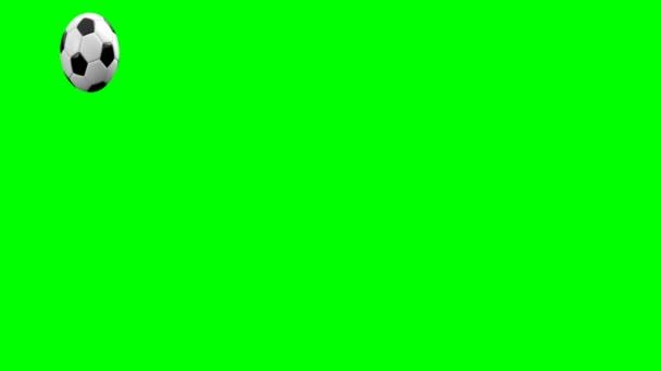 futball-labda, zöld képernyő-hoz tesz akármi video formátumban 4k