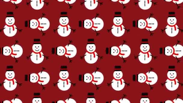 animált minta hóember ideális a karácsonyi szezon