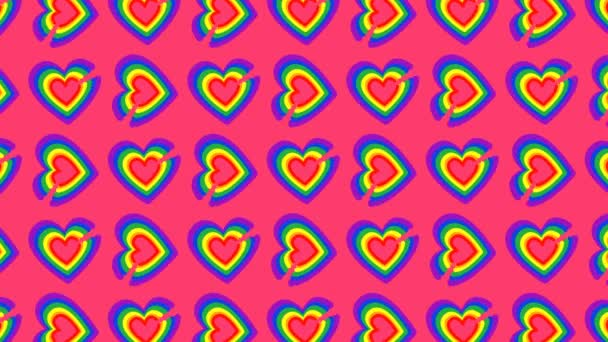 heart pattern is formed, ideal footage to represent love and gender equality