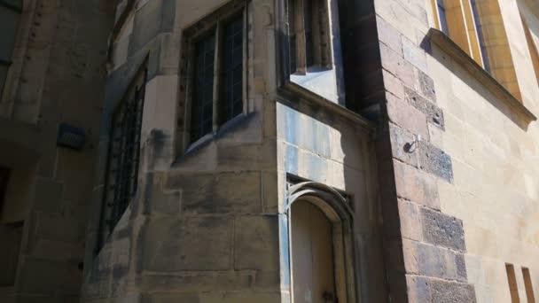 stiftskirche glockenturm in stuttgart in deutschland