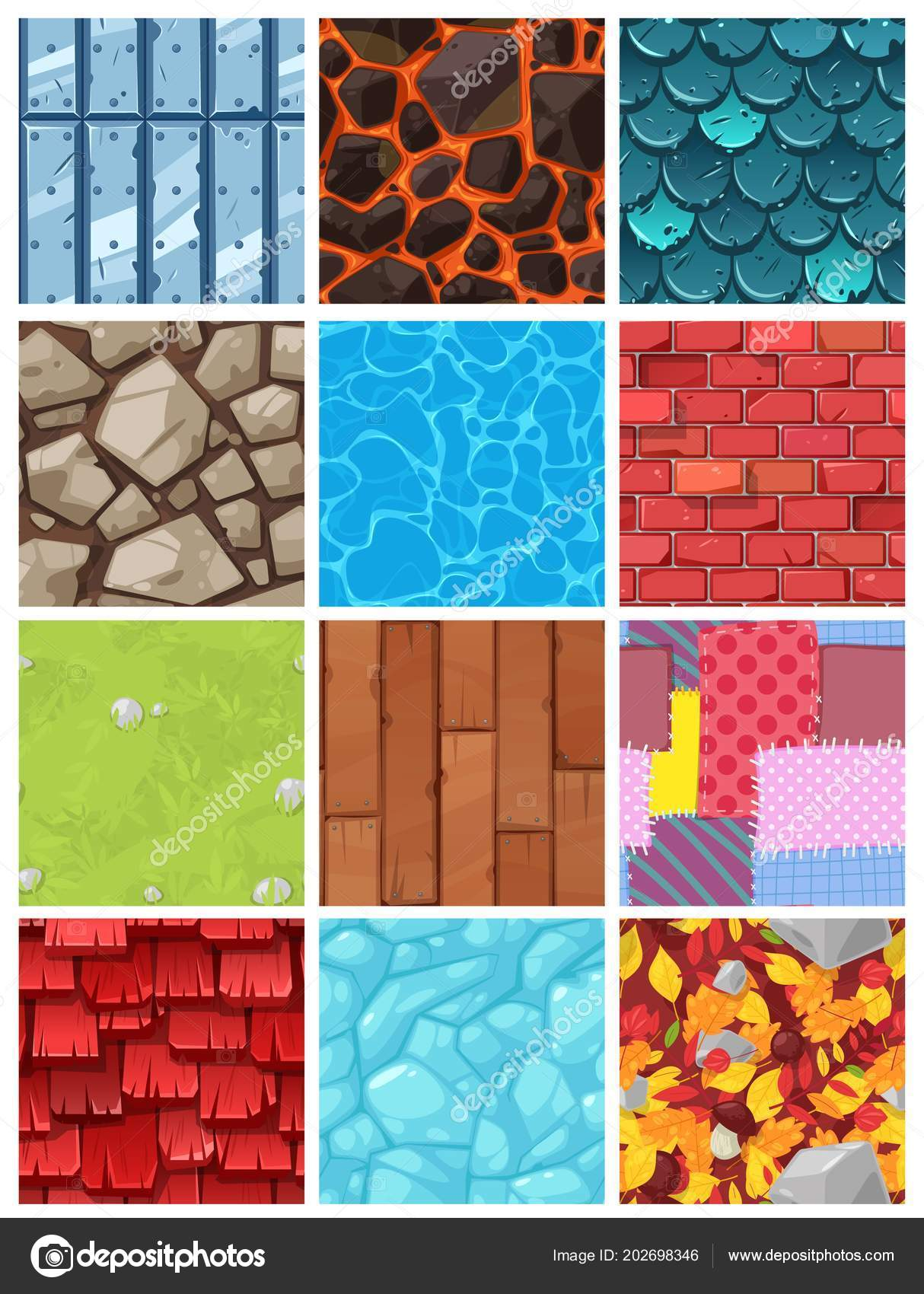 Vector building background wall texture architecture brickwall or ...
