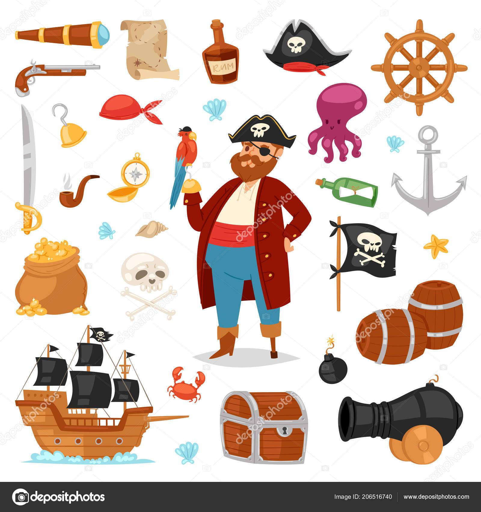 海賊ベクトル Piratic 文字バッカニア剣イラスト帽子盗撮衣装で男を著作