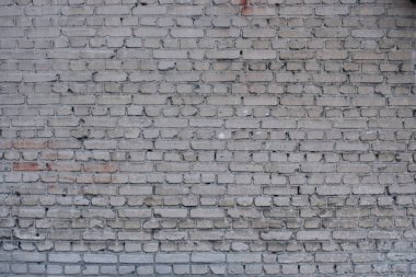 abstract grey shabby brick wall structure