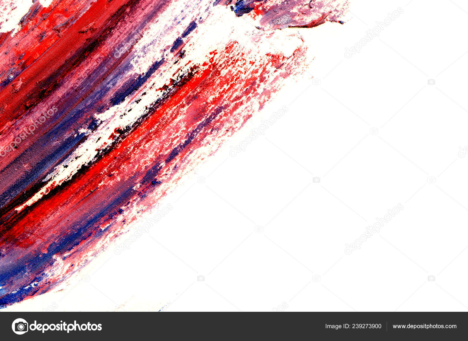 Abstract Ink Background Marble Style Blue Red Paint Stroke Texture Stock Photo C Sashkovna 239273900