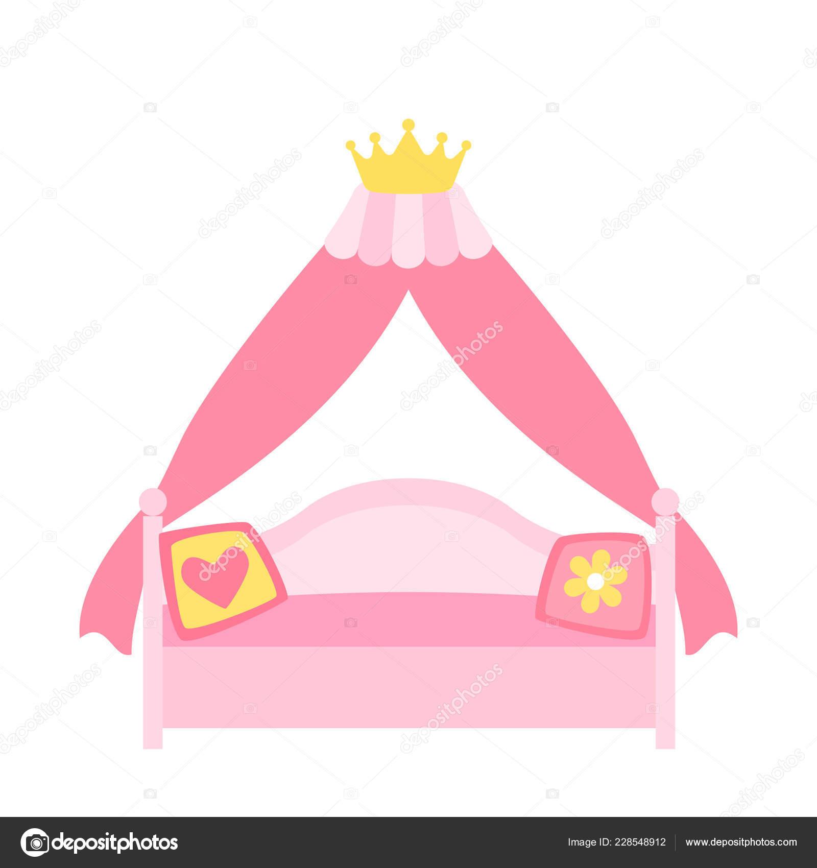 Letto Baldacchino Rosa.Letto Baldacchino Rosa Una Principessa Una Regina Delle Fate