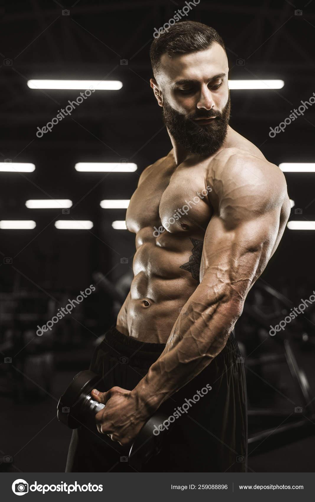 Männer muskulöse nackte Männer