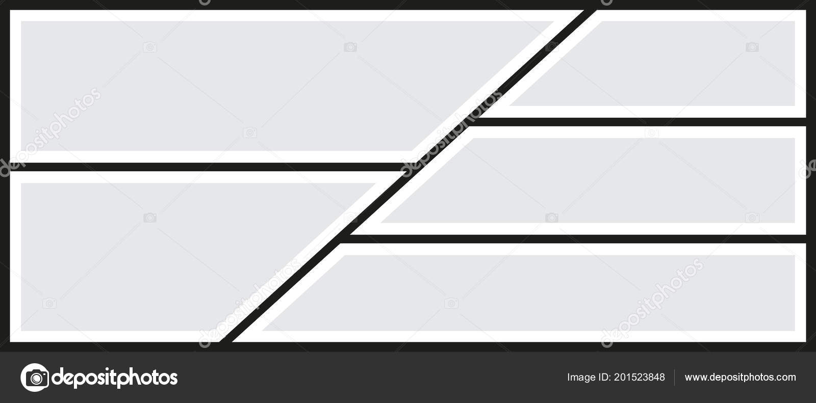 Vector Frames Photo Collage Templates Pictures — Stockvektor ...
