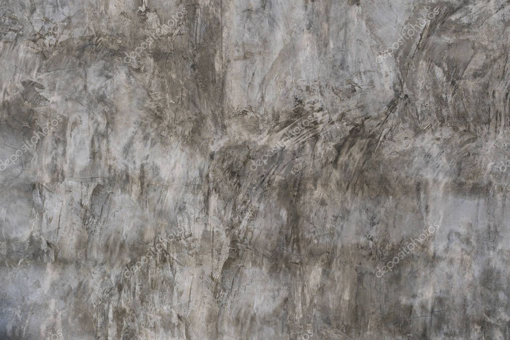 Creative stucco pattern, Neutral gray colors, old cement wall background.