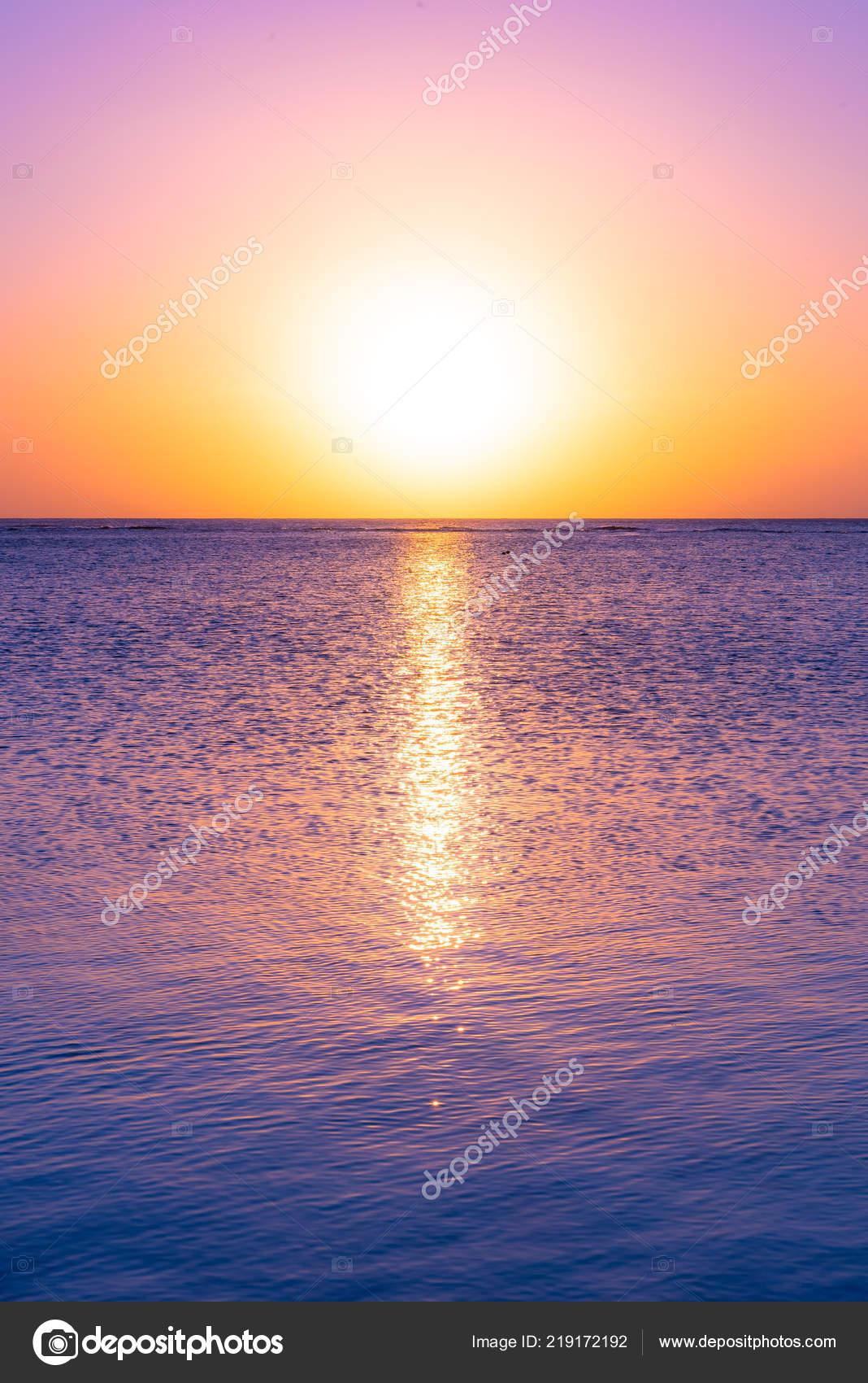 Sunset Holiday Paradise Resort Mauritius Island Beautiful Sunset