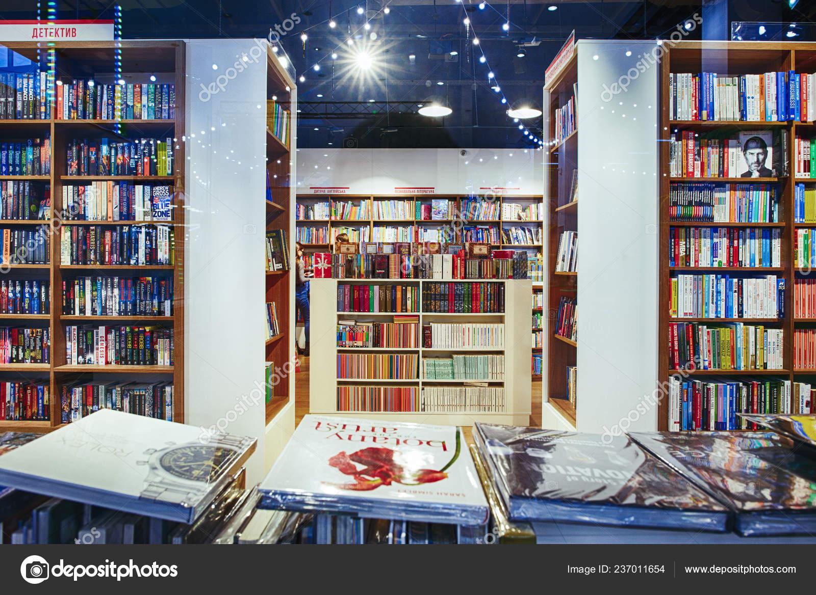 Kiev Ukraine December 2018 Famous International Books Sale Libri