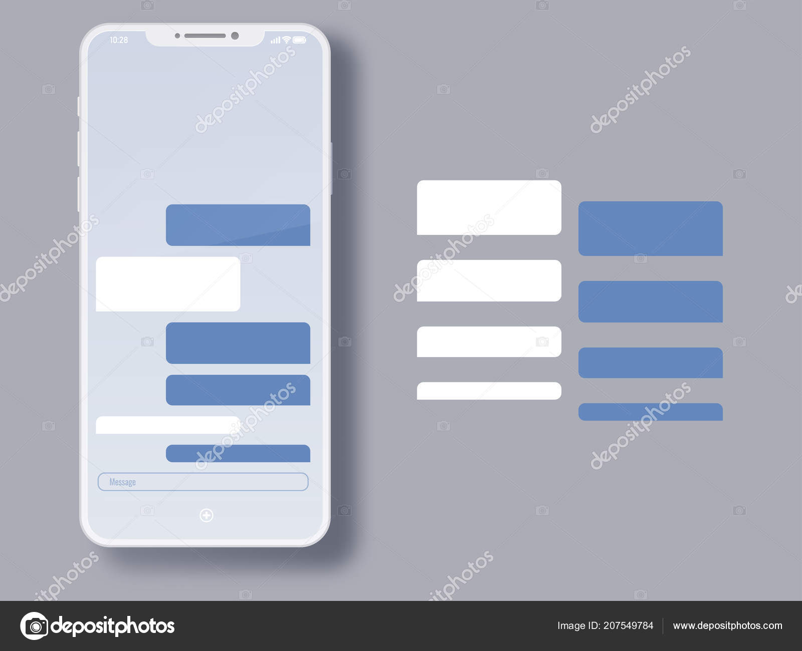 Social Network Messenger Page Template Business Private