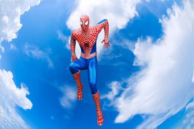 Bangkok, Thailand - MAY 05, 2018: 'Spiderman' Marvel comics  The Avengers are a fictional team of superheroes appearing in American comic books by Marvel.