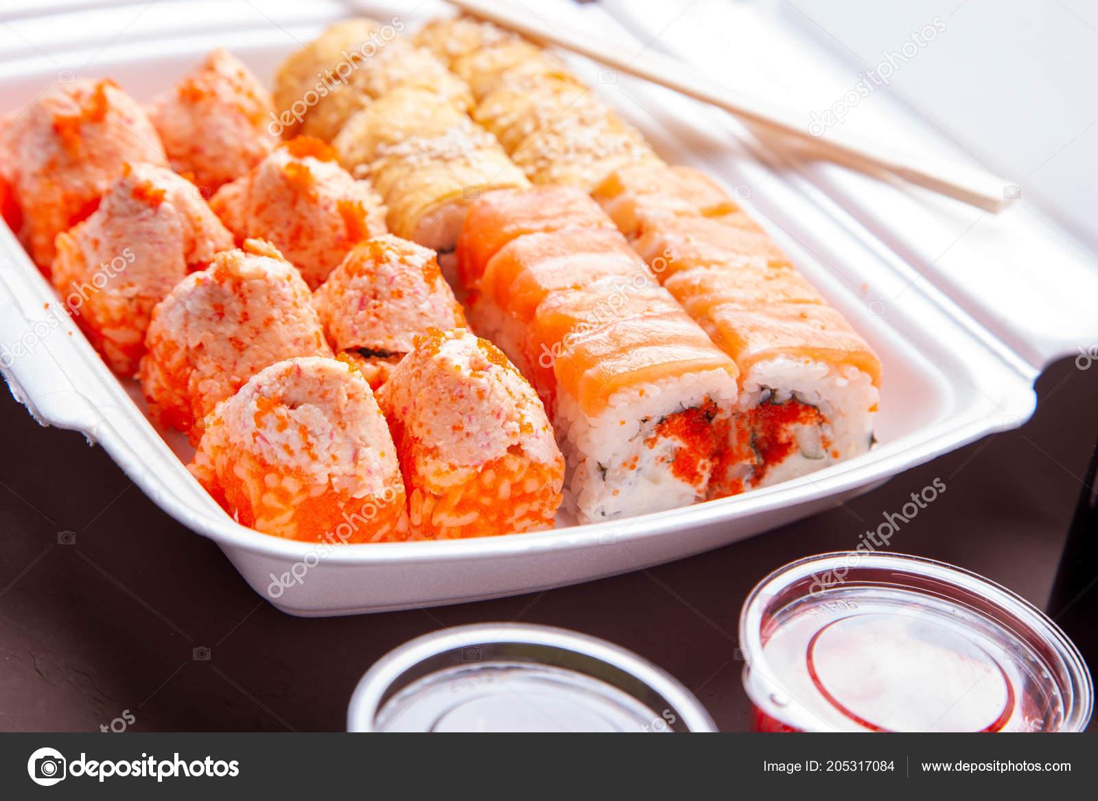 Доставка азиатской еды