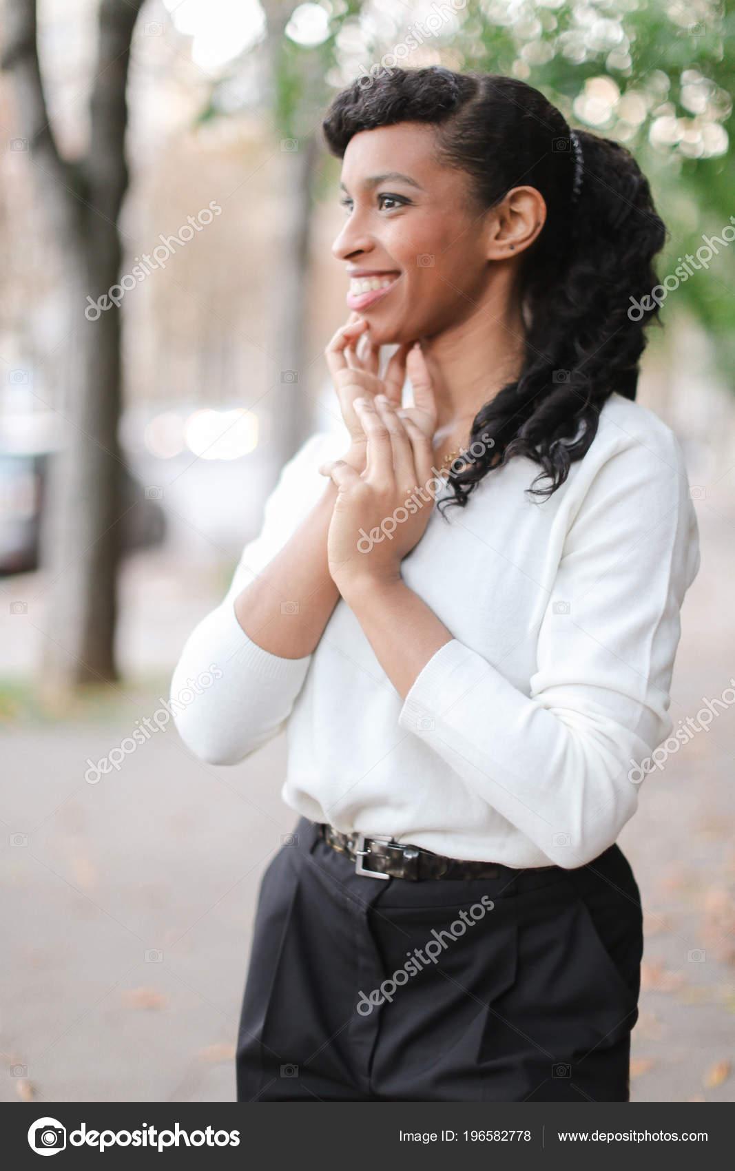 černá dívka pic