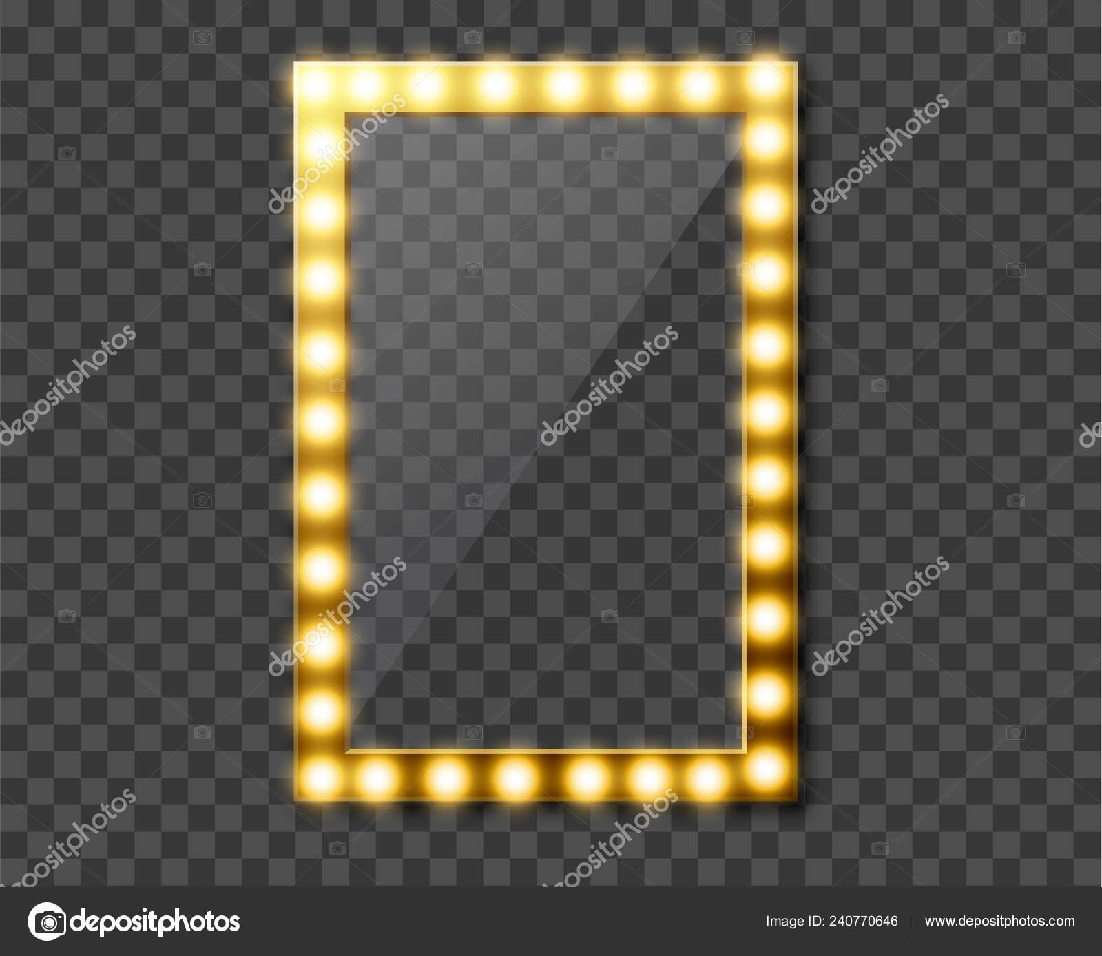 Specchi con luci per trucco