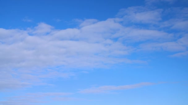 White cloud floating in blue sky. Beautiful clouds flying in clear sky landscape