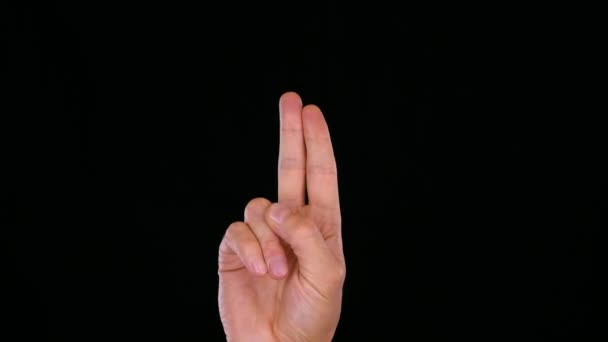 muž zobrazeno prana mudra gesto