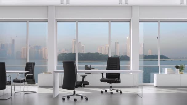Obchodníci, kteří se spojili s rukama v moderní kanceláři s centrem mimo okno. Částečný pohled na výkonné obchodní partnery, kteří třesou ruce