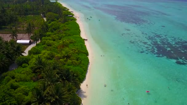 Légi drón textúra pihentető tengerparti nyaralás kék óceán fehér homok háttér