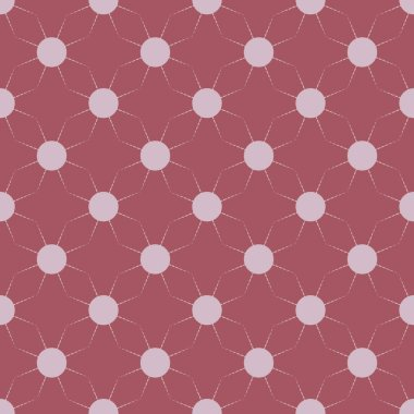 Seamless pattern with multicolor simple geometric suns.