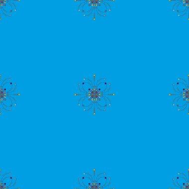 vintage  seamless pattern, vector illustration