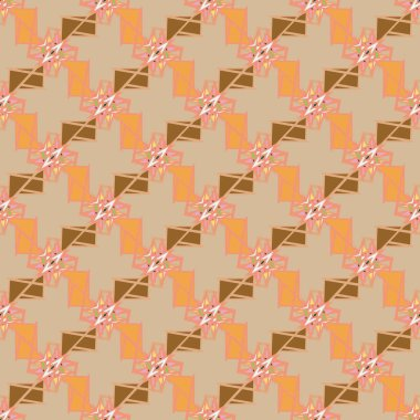Abstract geometric seamless pattern for background.