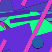 bright colorful geometric shapes background