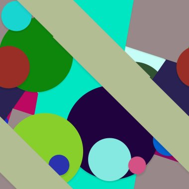Creative geometric seamless pattern, background