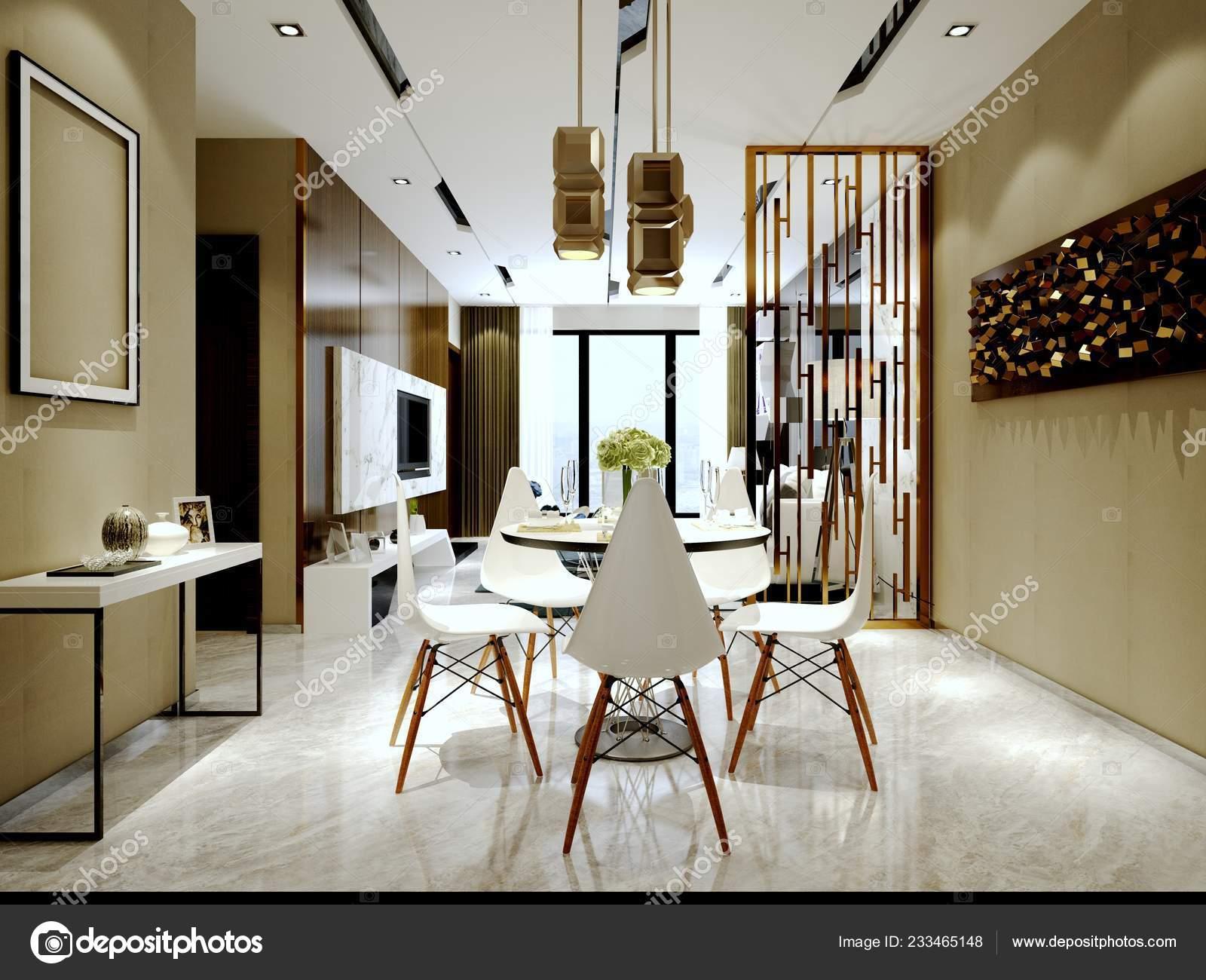 Render House Interior Living Room Stock Photo C Mtellioglu 233465148