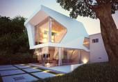 3D vykreslení og dům vnější pohled