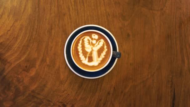 Ready hot drink coffee latte