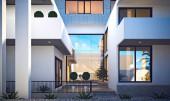 3D Rendering von Luxus-Villen-Haus