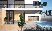Fotografie 3D Rendering von Luxus-Villen-Haus