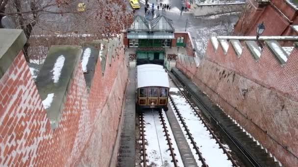 A budapesti Hill sikló télen Budapesten