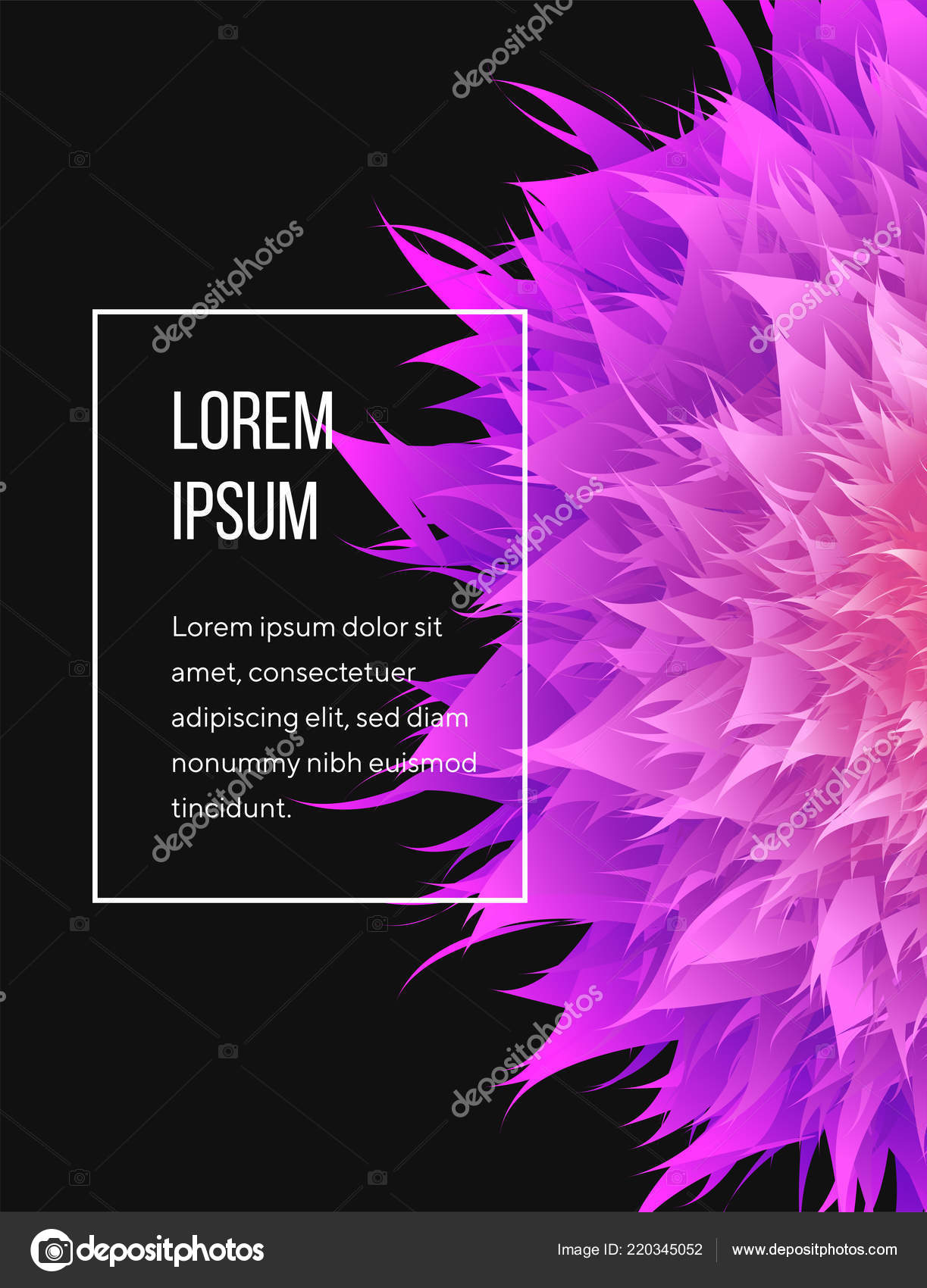 Abstract Cover With Mesh Mandala 3d Mesh Flower